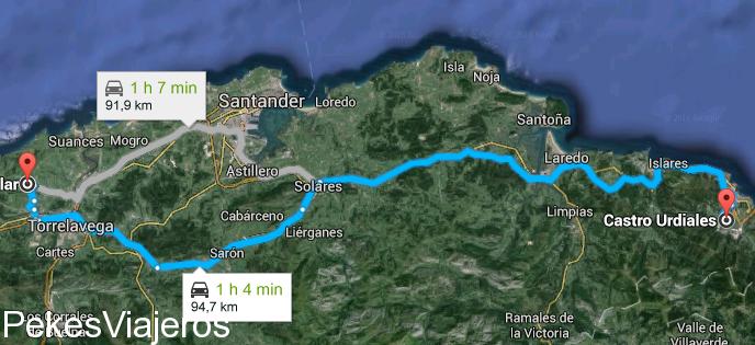 Santilla de Mar - Castro Urdiales